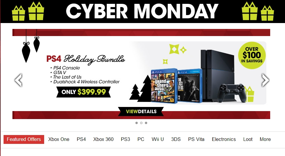 Gamestop S Cyber Monday Deals Revealed Lasts All Week