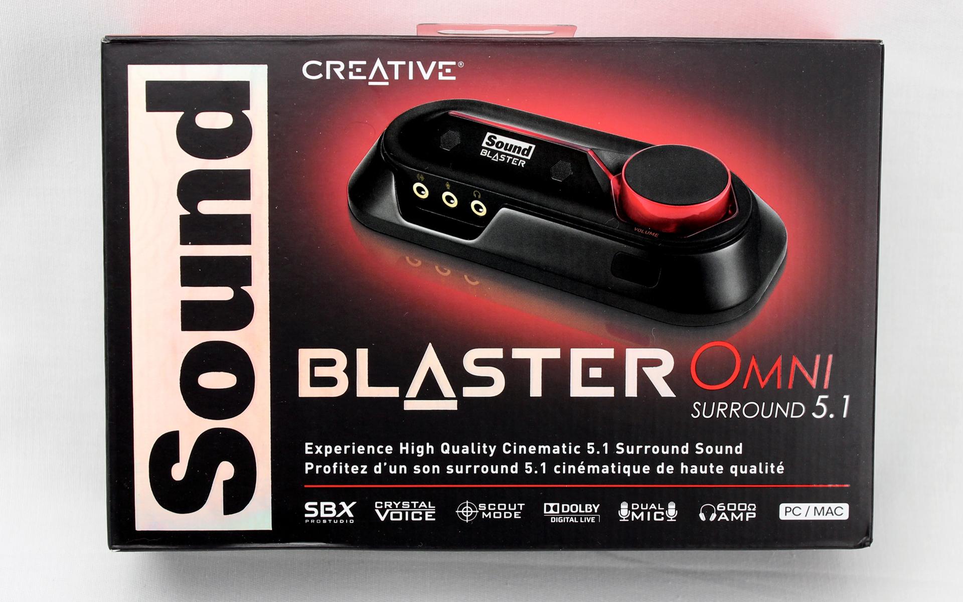 You Need a USB Sound Card: Creative Sound Blaster Omni Surround 5.1