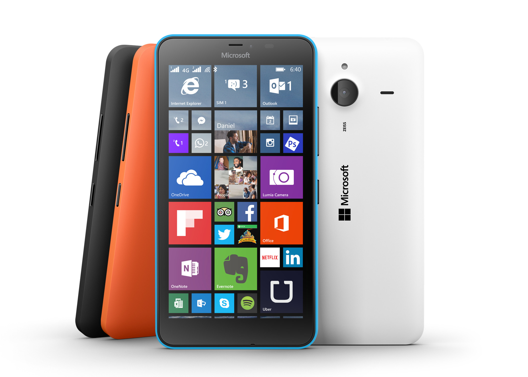 Microsoft Revea... Lumia 640 Xl At