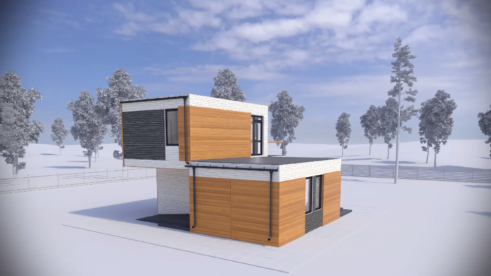 3d printing houses a house created by
