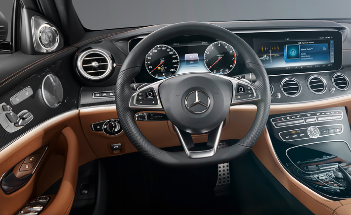 2017 Mercedes E Class Cockpit Looks Like A Video Game Vr