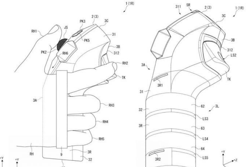 Sony Patents Next Gen Vr Motion Controllers
